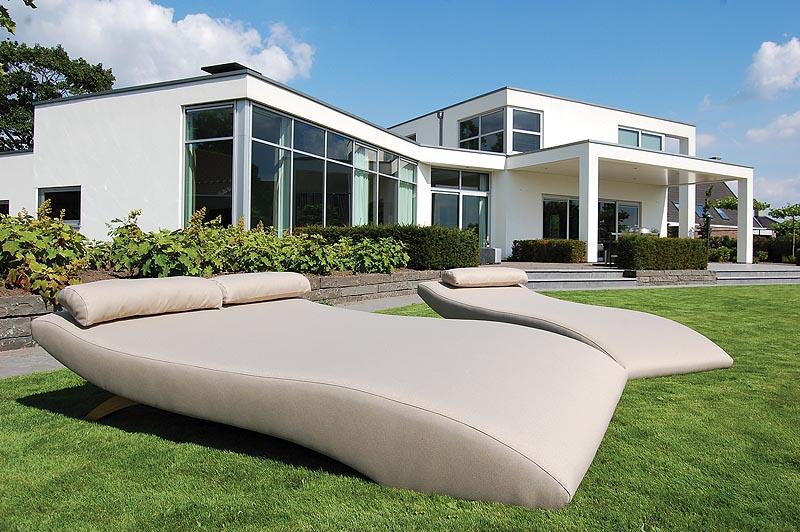 Wave model design2chill meubelen het paviljoentje stekene - Tuinmeubelen ontwerp ...
